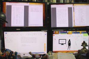 放送大学情報コース教授黒須正明氏の電子データ化イメージ画像